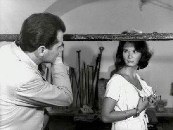 Lea Massari in una scena del film L'avventura