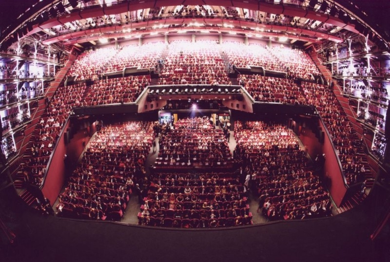 Una splendida veduta del Grand Theatre Lumiere