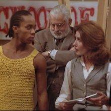 Albert Hague e Gene Anthony Ray in una scena del telefilm 'Saranno Famosi'