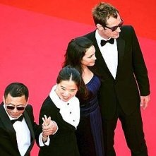 Cannes 2007: il cast e regista di My Blue Berry Nights: Horah Jones, Jude Law e Wong Kar-wai