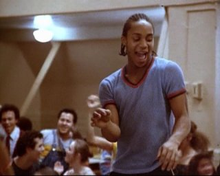 Gene Anthony Ray in una scena di 'Saranno Famosi'
