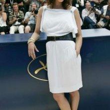Cannes 2007: abito bianco e tacchi vertiginosi, Asia Argento presenta 'Boarding Gate'
