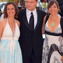 Cannes 2007: Leonardo DiCaprio con Nadia e Leila Conners