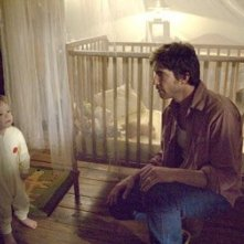 Dylan McDermott in una sequenza del film The Messengers