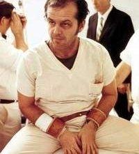 Jack Nicholson è protagonista di Qualcuno volò sul nido del cuculo