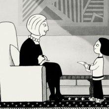 Un'immagine del film 'Persepolis' tratto dal fumetto di M. Satrapi