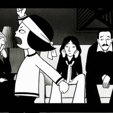 Un'immagine del film 'Persepolis' tratto dalla graphic novel di Marjane Satrapi
