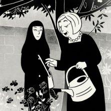 Un'immagine del film 'Persepolis'