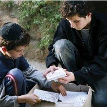 Una scena del film 'Tehilim'