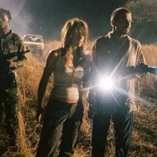 Brooke Langton con Dominic Purcell in una scena del film Primeval