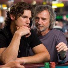 Curtis Hanson e Eric Bana sul set di Le regole del gioco