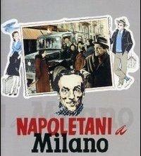 La locandina di Napoletani a Milano