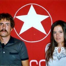 Gianmarco Tognazzi con Elvira Giannini in una scena del film Guido che sfidò le Brigate Rosse