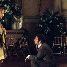 Hélène De Fougerolles e Jonathan Zaccai in una scena di Finchè nozze non ci separino