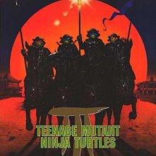La locandina di Tartarughe Ninja 3