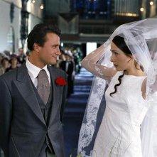 Una  scena di Finchè nozze non ci separino