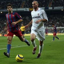 Zidane in una scena del film Goal! 2 Living the Dream