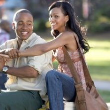 Columbus Short e Meagan Good in una scena del film Stepping