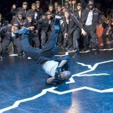 Il rapper Columbus Short in una scena del film Stepping