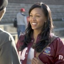Meagan Good in una scena del film Stepping