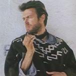 Clint Eastwood nel film PER UN PUGNO DI DOLLARI