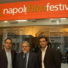 Davide Azzolini, Mario Violini e Claudio Curcio alla presentazione del NFF 2007