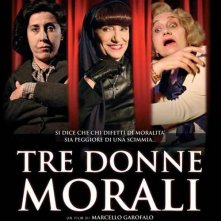 La locandina di Tre Donne Morali