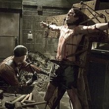 Una scena di tortura del film Hostel II
