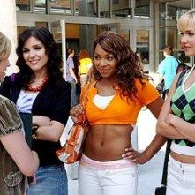 Brittany Snow, Arielle Kebbel, Sophia Bush e Ashanti in una scena di John Tucker Must Die