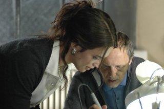 Dario e Asia Argento sul set del film La terza Madre