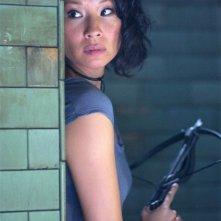 Lucy Liu in una scena diRise: Blood Hunter