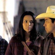 Ana Claudia Talancon, Catalina Sandino Moreno e Wilmer Valderrama in una scena del film Fast Food Nation
