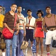 Brandon Fobbs, Evan Ross, Kevin Phillips, Alphonso McAuley, Regine Nehy e Nate Parker in una scena del film Pride