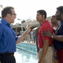 Tom Arnold, Bernie Mac e Terrence Howard in una scena del film Pride