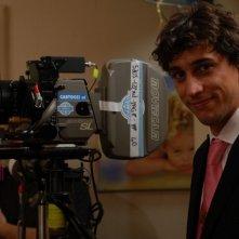 Corrado Fortuna in una scena di Agente Matrimoniale
