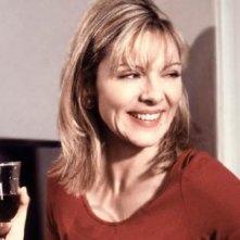 Kim Cattrall in una scena di Sex and the City, episodio Singles & Sposati