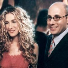 Willie Garson e Sarah Jessica Parker in una scena di Sex and the City, episodio Amore e sesso