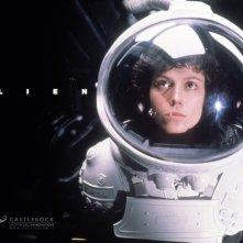 Wallpaper del film Alien con Sigourney Weaver