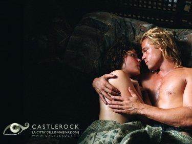 Wallpaper del film Troy con Brad Pitt e Rose Byrne