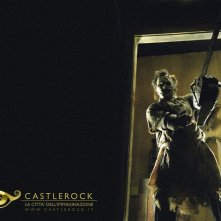 Wallpaper del film Non aprite quella porta con Leatherface
