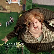 Un divertente wallpaper di zia Marge (Pam Ferris) nel film Harry Potter e il prigioniero di Azkaban