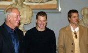 Pitt, Damon e Weintraub a Roma orfani di Ocean