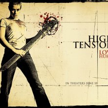 Wallpaper spletter del film Alta tensione