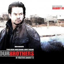 Wallpaper del film Four Brothers con Mark Wahlberg