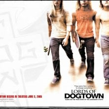 Wallpaper di Lords of Dogtown con i protagonisti del film