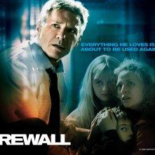 Wallpaper del film Firewall Accesso negato con Harrison Ford