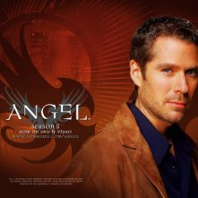 Wallpaper della serie Angel con Alexis Denisof