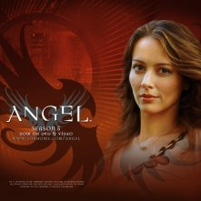 Wallpaper della serie Angel con Amy Acker
