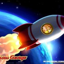 Wallpaper del cartone animato Curioso come George