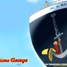 Wallpaper del cartoon Curioso come George